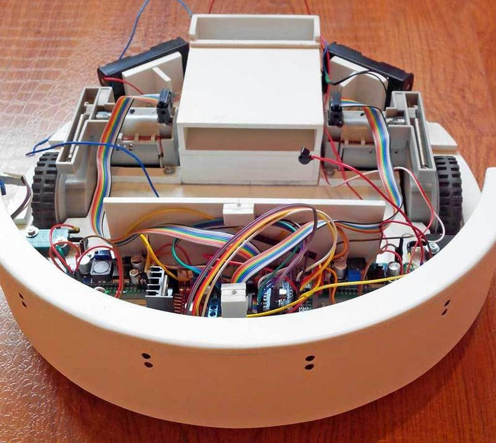 Ремонт робот пылесосов своими руками 863